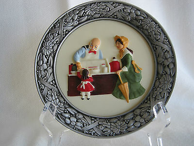 """Sebastian Miniatures Collector's Plate """"The Candy Store"""""""