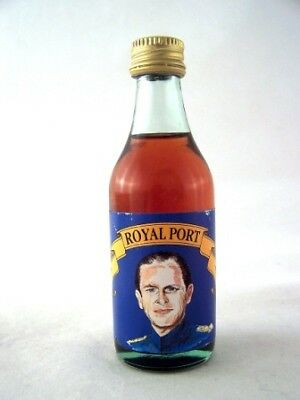 Miniature circa 1976 ROYAL PORT Prince Phillip Isle of Wine