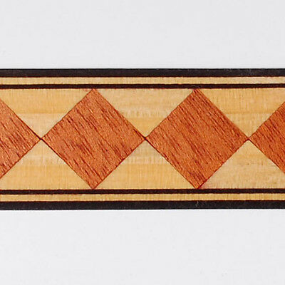 One inch - Harlequin - Buffard Frères Marquetry Banding Strips (Inlay-95)