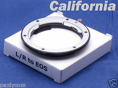 Leica R LR Lens to Canon EOS 550D 30D 7 400 5D 1Ds Camera EF Mount Adapter Ring