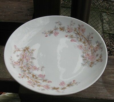 Vintage Carlsbad Bowl Hand Painted Soft Floral Colors !!