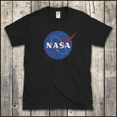 NASA SPACE AGENCY T-Shirt COOL RETRO SCIENCE GEEK All Sizes to 4XL