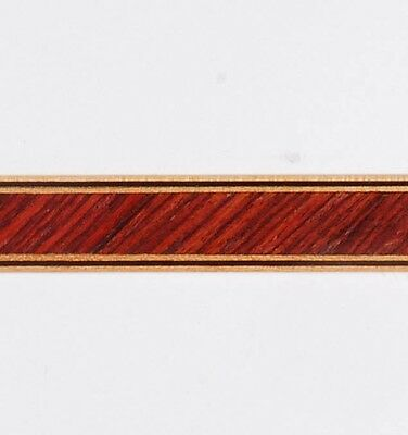 "9/16"" -- 45° Kingwood -- Frères Marquetry Banding Strips (Inlay-224)"