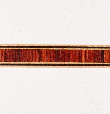 """7/16"""" - Vertical Kingwood - Frères Marquetry Banding Strips (Inlay-223)"""