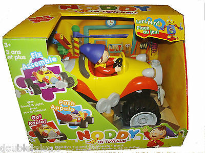 New Noddy In Toyland Fix And Go Monster Truck W/ Lights & Sounds & Movements