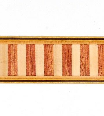 """7/8"""" - Large  Dental - Buffard Frères Marquetry Banding Strips (Inlay-103)"""