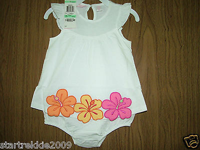 First Impressions Baby Girl Floral Sundress, White Color, Sz. 18 Months. NWT