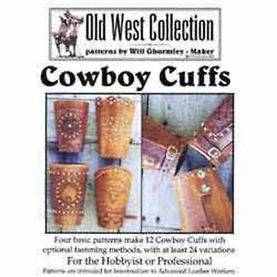 Cowboy Cuffs Pattern Pack 6015-02 Tandy Leather Craft