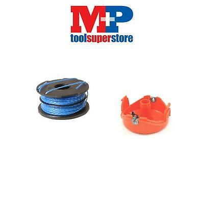 Black And Decker Strimmer Spool Cap + Spool Line Gl680 Gl685 Gl690 Gl686 Gl687