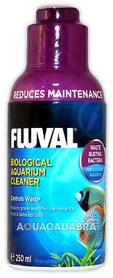 FLUVAL BIOLOGICAL CLEANER 250ml WASTE CONTROL AQUARIUM FISH TANK NUTRAFIN