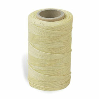 Waxed Nylon Sewing Awl Thread Natural 4 Oz Spool 1205-04 by Tandy Leather