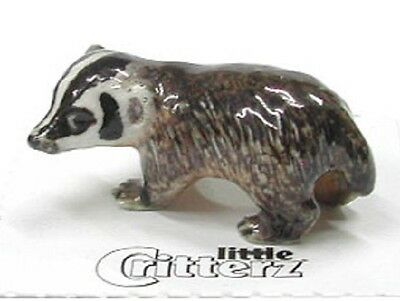 little Critterz Miniature- Badger - LC144 (Buy 5 get 6th free!)