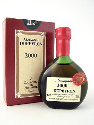 2000 Ryst Dupeyron Armagnac 50ml France Isle of Wine
