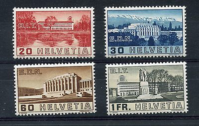 Stamp / Timbre De Suisse Helvetia Neuf Serie N° 307/310 * Cote + 24 €