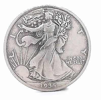 Half Dollar Walking Liberty Replica Concho 11372-03 by Stecksstore