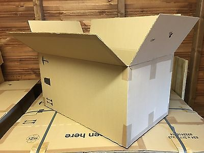 XLarge Storage Packing House Moving Removal Double Walled Strong Cardboard Boxes