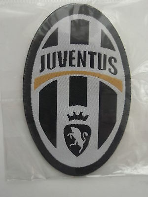 JUVENTUS -  badge embroidery - new - sew or iron - JUVENTUS - ITALY