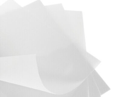 25 x A4 Vellum Translucent Tracing Paper 110gsm Laser & Inkjet Printers