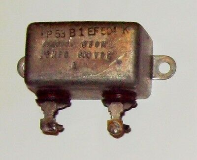 Recovered Aerovox 0.5Mfd 600VDC capacitor