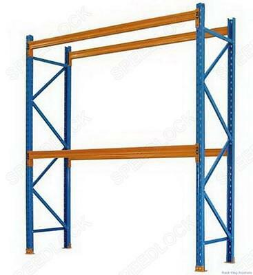 Used Dexion Pallet Racking Frames 3M High Rack Shelf Shelving