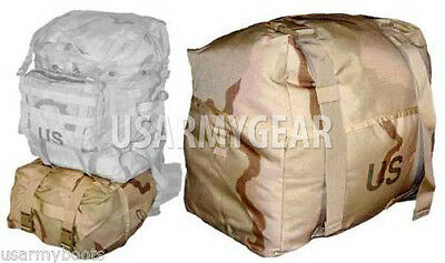 NEW Made in USA Military Army MOLLE II DCU Desert Camo SLEEP SYSTEM CARRIER SSC