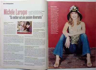 Mag 2004: interview MICHELE LAROQUE