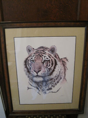 """Franklin Mint Hand Signed Lithograph """"SIBERIAN HUNTER"""""""