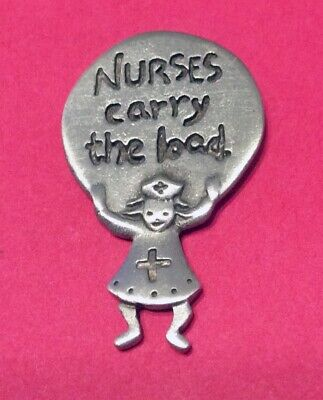 Nurses Carry The Load Tack Pin