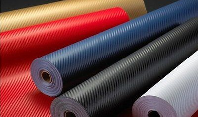 BUY 2 GET 1 FREE! A4 / 1m Bubble Free Textured Carbon Fibre Self Adhesive Wrap
