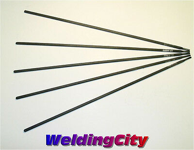 "WeldingCity 5-pcs Cast Iron Repair Stick Welding Rod 1/8""x14"" Nickel-99 ENi-C1"