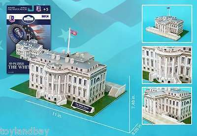 Museum Quality Architectural Model Barack Obama White House 1:125 Scale