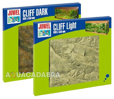 Juwel Cliff 600 Light Or Dark Background Fish Tank Aquarium Rio Trigon Vision