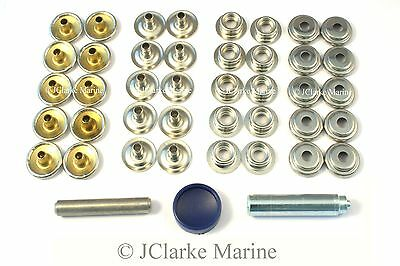 Boat Cover/Canopy Fittings - Snap fastener nickel plated canvas to canvas kit  sc 1 st  PicClick UK & BOAT Cover/Canopy Fittings - Snap fastener nickel plated canvas to ...