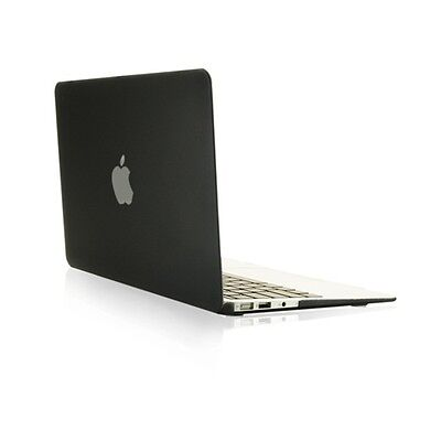 "NEW ARRIVALS! Rubberized BLACK Hard Case Cover for Macbook Air 13"" A1369"