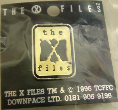 The X-Files : 'the X-Files' Metal Pin Made In 1996