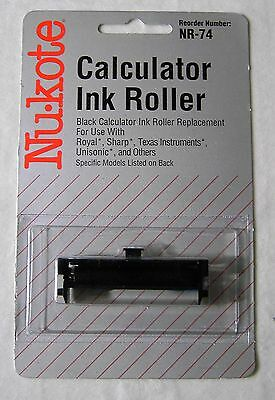 4 Pack Texas Instruments TI-5630 TI5630 Calculator Ink Roller Black