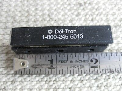 "Del-Tron 2"" Miniature Linear Slide Rail Crossed Roller Bearing w/Adjustment Gibb"