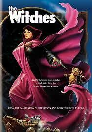 The Witches DVD 1990 New/Sealed Angelica Huston
