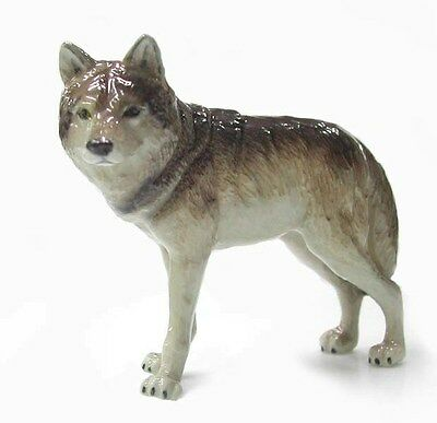 R036 Northern Rose Miniature Grey Wolf  RETIRED!