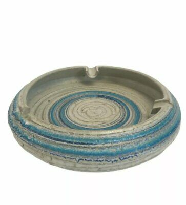 Vintage Rosenthal Netter Large Ashtray Art Retro 70's Colors Awesome Coffee Tble