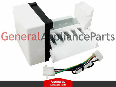 whirlpool kenmore icemaker wiring harness d7813002 8170938 whirlpool kenmore roper refrigerator icemaker kit w10122503 2212353 2212352