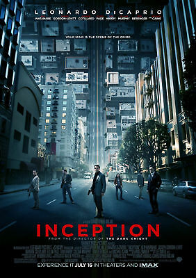 Movie Poster Print: Inception *DISCOUNTED OFFERS*  A3 / A4