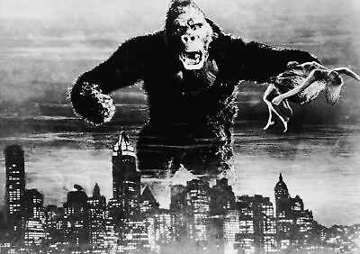 Classic Movie Poster Print: Original King Kong *DISCOUNTED OFFERS*  A3 / A4