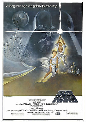 Classic Movie Poster - Star Wars *DISCOUNTED OFFERS*   A3 / A4