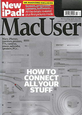 MacUser MAC USER Magazine March 2012 How to connect all your stuff NEW iPAD @NEW