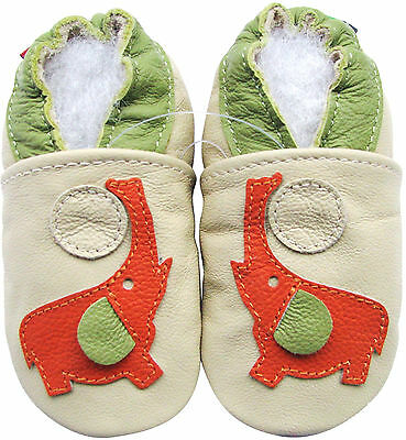 carozoo paw cream 4-5y soft sole leather kids shoes