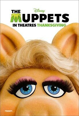 Movie Poster Print: The Muppets 2011 - Miss Piggy *DISCOUNTED OFFERS*  A3 / A4
