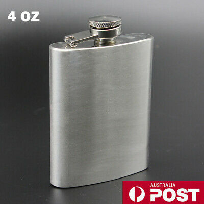 Brand New Top Quality 4oz Stainless Steel Hip Flask Good Gift For Man