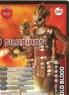Dr Who Monster Invasion - 129 Silurians