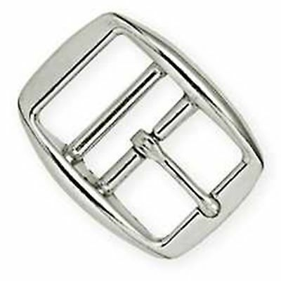 "Double Bar Buckle Nickel 5/8"" 1514-02 by Tandy Leather"